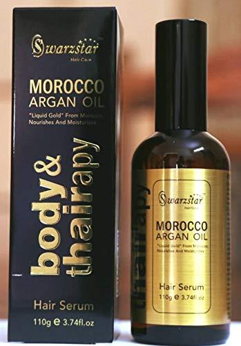 Swarzstar Morocco Argan Oil Hair Serum 110g/3.74fl.oz (GOLD)