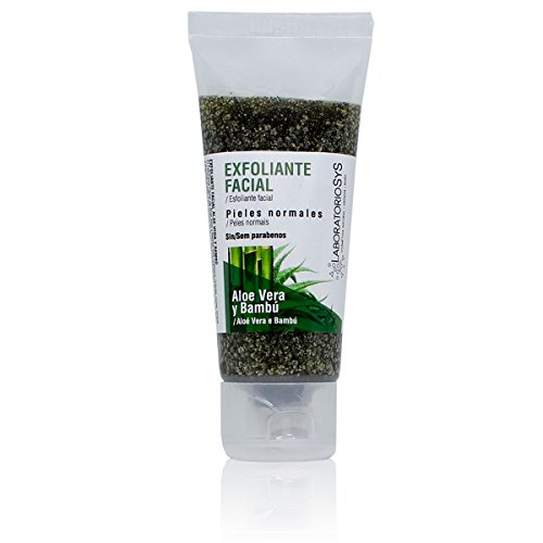 Laboratoire SYS exfoliante visage aloe vera et bambou – 100 ml