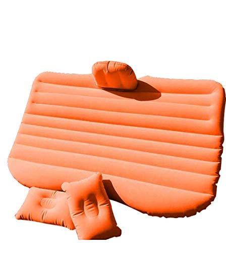Vetrineinrete Materasso Gonfiabile per Auto Lettino Sedile Posteriore Macchina con 2 Cuscini Pompa Inclusa Lettino ad Aria da viaggio138x85x45cm