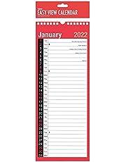 Sketched SUPERSLIM 2021 CALENDAR - jeden miesiąc do przeglądania wąski łatwy przegląd dziennego harmonogramu idealny rutynowy dom biuro klasa