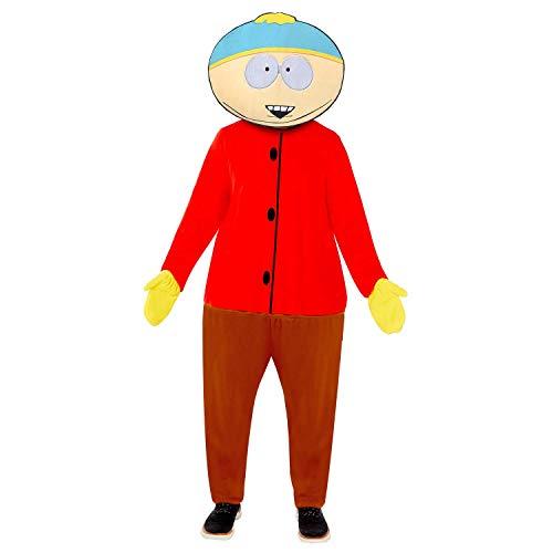 Amscan 9909302 South Park Cartman - Disfraz clsico de Catman, color amarillo