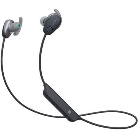 ソニー ワイヤレスノイズキャンセリングステレオヘッドセット WI-SP600N : Amazon Alexa搭載 / マイク付き WI-SP600N BM
