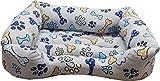 Cisne 2013, S.L. Cama para Perro y Gato Huesos Azules D 70 * 50cm.