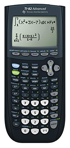 Texas Instruments TI 82 Advanced Calculatrice Graphique avec
