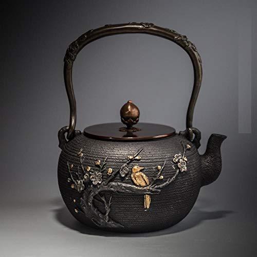 Cast Iron Teapots Cast Iron Teapot, Tea Maker, Gilt Old Iron Kettle
