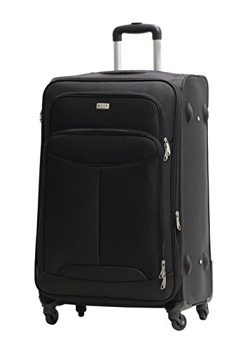 Valise Grande Taille Alistair One 75cm - Toile Nylon Ultra Léger - 4...
