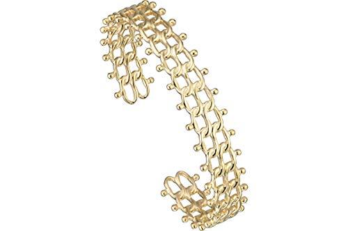 IKITA Timeless Cuff Bracelet, Gold-Plated Diameter 60 mm