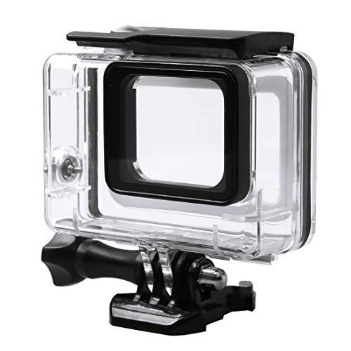 Carcasas de cámara Estuche Protector a Prueba de Agua de 45 m con Hebilla Montaje y Tornillo básicos para GoPro HERO6 Negro / HERO5 Negro / HERO7 Negro