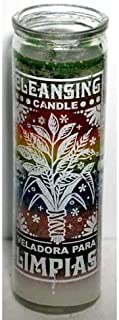 Cleansing 7 Day Jar Candle Wiccan Wicca Pagan Spiritual Religious New Age