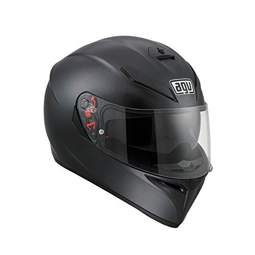 AGV 0301A4EY_002_L K-3 SV E2205 Solid Helm, Matt Black, Größe L