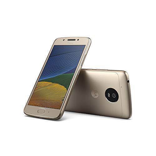 Celular Smartphone Motorola Moto G5 16 GB ROM 3 GB RAM, Dourado