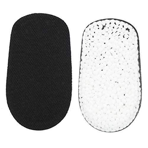 Heightening Insole, Men's Shoe Lifts, Pair of Height Increasing Insoles Mid Invisible Heel Insert Shoes Lift Pad Taller Cushion(Black1.5cm)