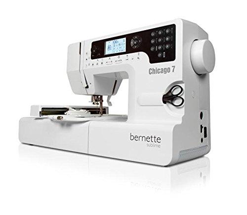 Máquina de Bordar e Costurar Bernette Bernina Chicago 7