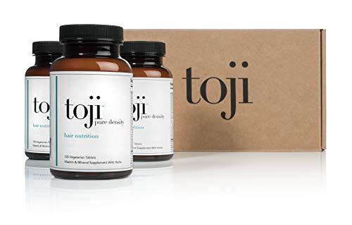 Toji Pure Density: Hair Nutrition. A Vegetarian Hair Vitamin Supplement w/ Organic Horsetail,...