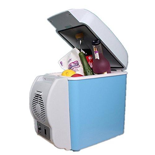 JYSPORT Kühlschrank Tragbarer Mini-Gefriertruhe PKW Kühl Gefrier-Box Heißer und kalter Gefrier (7.5L)