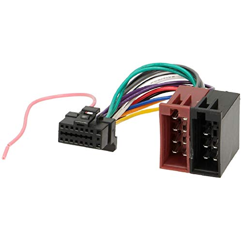 Câble Adaptateur ISO autoradio Alpine 16 pins Noir