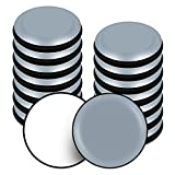 VABNEER Deslizadores para Muebles, 16 Piezas PTFE Teflón Redondos Autoadhesivos Planeadores para muebles, Mover Muebles Pesados para Pisos Lisos (Redondos, 30mm)