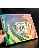 48/72/120/160/180 Color Profesional Juego de lápices de Colores aceitosos boceto de Pintura de Agua Suave de Madera - 48 Colores al óleo,