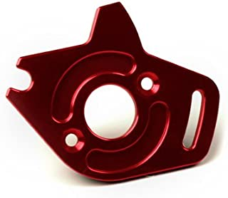Atomik RC Alloy Motor Plate, Red fits The Traxxas 1/10 Slash 4X4 and Other Traxxas Models - Replaces Traxxas Part 6890