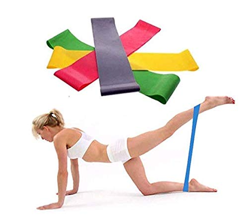 About1988 Women\'s Set by Ideal für Muskelaufbau Physiotherapie Pilates Yoga Gymnastik,Premium Fitnessbänder Band für Crossfit Calisthenics Oder Workout (Zufällig)