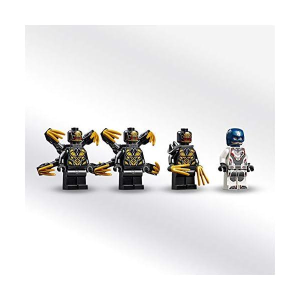 LEGO Super Heroes - Capitán América: Ataque de los Outriders, Juguete de Construcción, Moto con Lanzallamas del Primer…