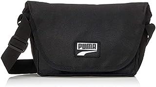 PUMA Mens Deck Mini Messenger Crossbody Bag, Black - 07786101