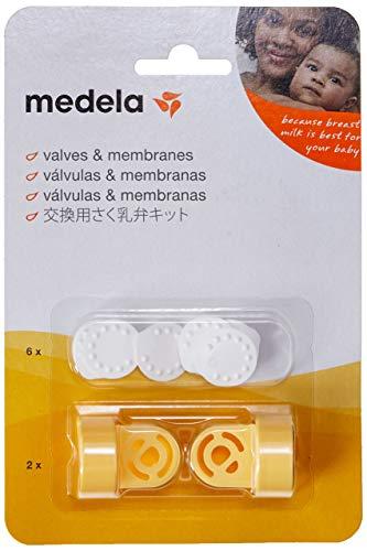 Recambio válvulas membranas sacaleches Medela