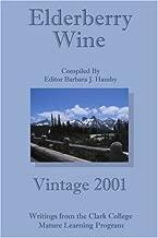 Elderberry Wine: Vintage 2001