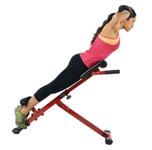 Product Image 2: Stamina Hyper Bench, Red