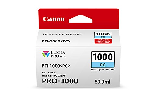 Price comparison product image CanonInk Lucia PRO PFI-1000 Photo Cyan Individual Ink Tank