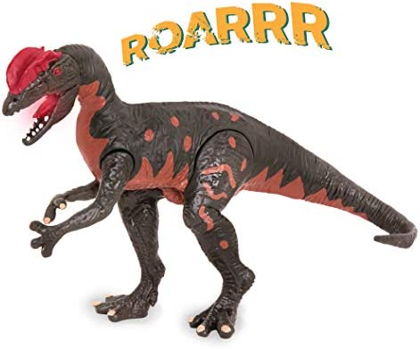 Terra by Battat Electronic Dinosaur with Light Sound Dilophosaurus Wetherilli Toy for Kids Age product image