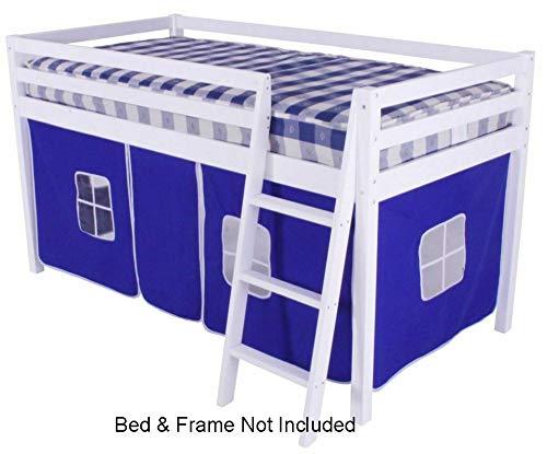 HLS Blaues Zelt für Hochbett