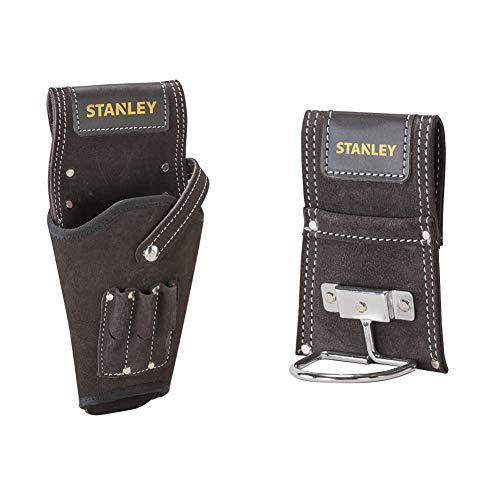Stanley Funda para taladros STST1-80118, marrón + Soporte para martillos STST1-80117, marrón