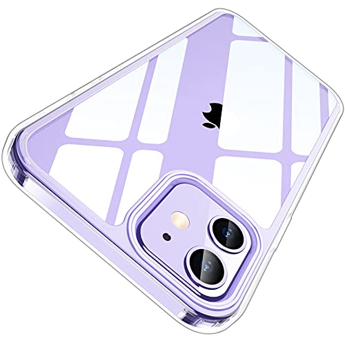 Temdan Clear Case Compatible with iPhone 12 Only $1.00 (Retail $9.99)