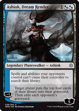 Magic: The Gathering - Ashiok, Dream Render - War of The Spark