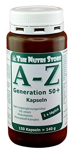 A-Z Generation 50+ Multivitamin Mineralstoff Kapseln 120 Stk.