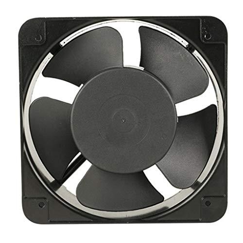 1pc 15050 Negro 220V 150x150x50mm Sin Escobillas Ventilador Silencioso para Ozonizador