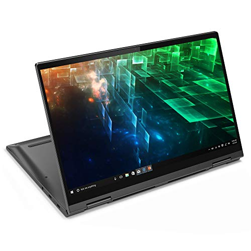 Lenovo Yoga C740 14 Inch FHD Convertible Laptop (Intel Core i7, 8GB RAM, 512GB SSD, Windows 10) - Iron Grey,81TC001XUK (Renewed)