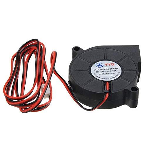 LHQ-HQ accesorios de la impresora 3D, Ventilador de refrigeración 3 piezas DC 24V ultra silencioso pequeña turbina del ventilador DC 5015 for Impresoras 3D Impresoras Circuit Board