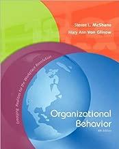S. McShane's M. V. Glinow's Organizational Behavior [Hardcover]2008