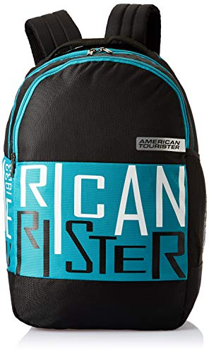 American Tourister Bounce 28 Ltrs Black Casual Backpack (FR9 (0) 09 001)