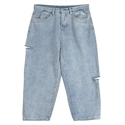 HOSDNew Autumn Winter Women's Fashion Casual Denim Pants from HOSD