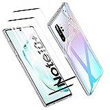 Zsmzzd Coque Samsung Galaxy Note 10 Plus, avec Verre Trempé Protection d'écran, Antichoc...