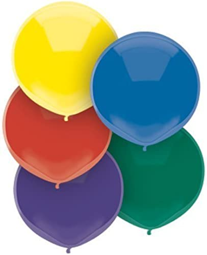 17  Royal Rich AssortHommest Balloons (72 ct) by National Party Supply