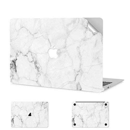 Digi-Tatoo MacBook Skin Decal Sticker Wrap for 2020 MacBook Pro 13 inch (Model A2338/A2289/A2251), Anti-Scratch, Easy Apply, Full Body Protective Vinyl Skin [Fresh Marble]