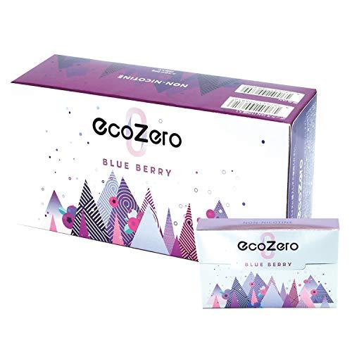 EcoZero エコゼロ 1箱20本入り 茶葉スティック ニコチンゼロ 加熱式タバコ 加熱式たばこ ニコチン0 たばこ風 電子タバコ 電子たばこ 禁煙グッズ 禁煙 離煙 減煙 (ブルーベリー, カートン)