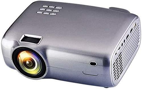 YUYANDE Mini proyector, proyector de películas con sincronización de la pantalla del teléfono inteligente con soporte de 1080p y 120 '' PORROPORTOR DE VIDEO SOPORTE TV STICK, LEYESTONA Vertical para p