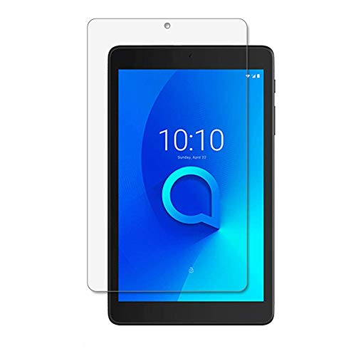 for Alcatel Joy Tab Tempered Glass Screen Protector - [2 Pack] Tablet Tempered Glass Screen Protector Frontier Protective Protector Clear Cover for Alcatel Joy Tab