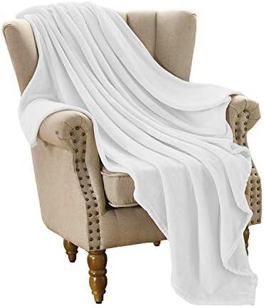 Top 10 Best white plush blanket Reviews
