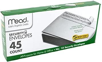 Mead No.10 Envelopes, Security, Press-it Seal-it, 4-1/8